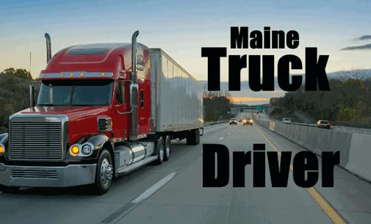Maine-Truck-Driver
