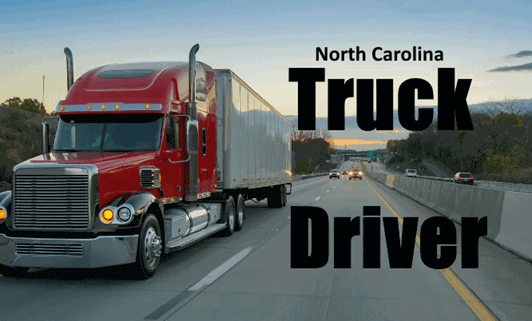 North-Carolina-Truck-Driver