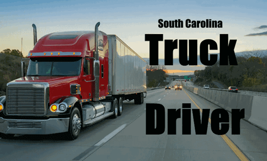 South-Carolina-Truck-Driver